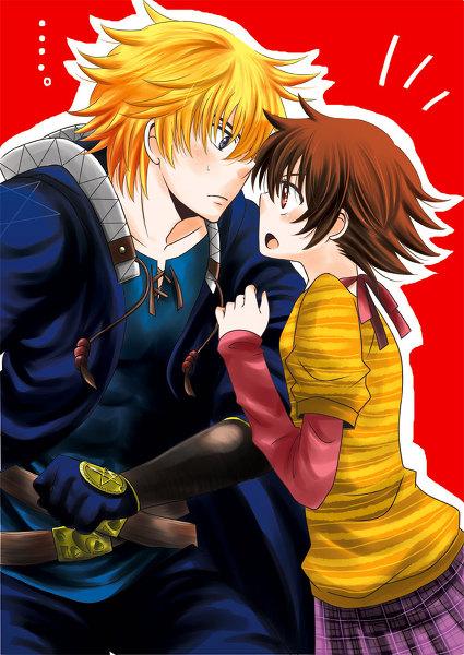 Honoka and Natsu...