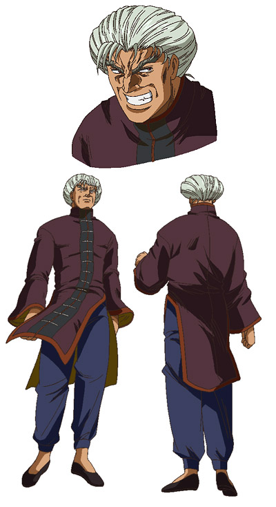 Li Tenmon Official OVA Art