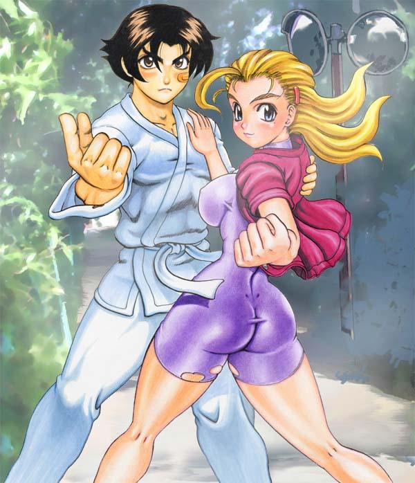 Tatakae! Volume 5 Cover Illustration