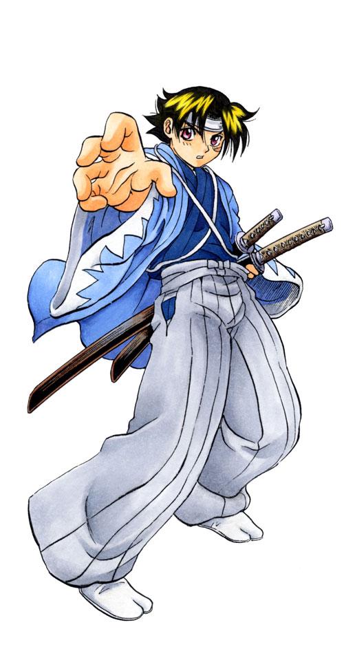 Kenichi in a Shinsengumi Outfit