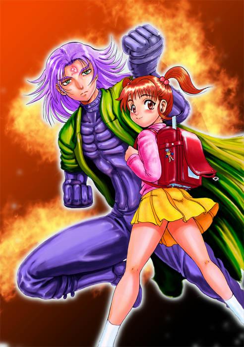 Choujin Horosho Color Illustration