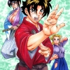 Kenichi, Miu and Shigure Wearing Hakama