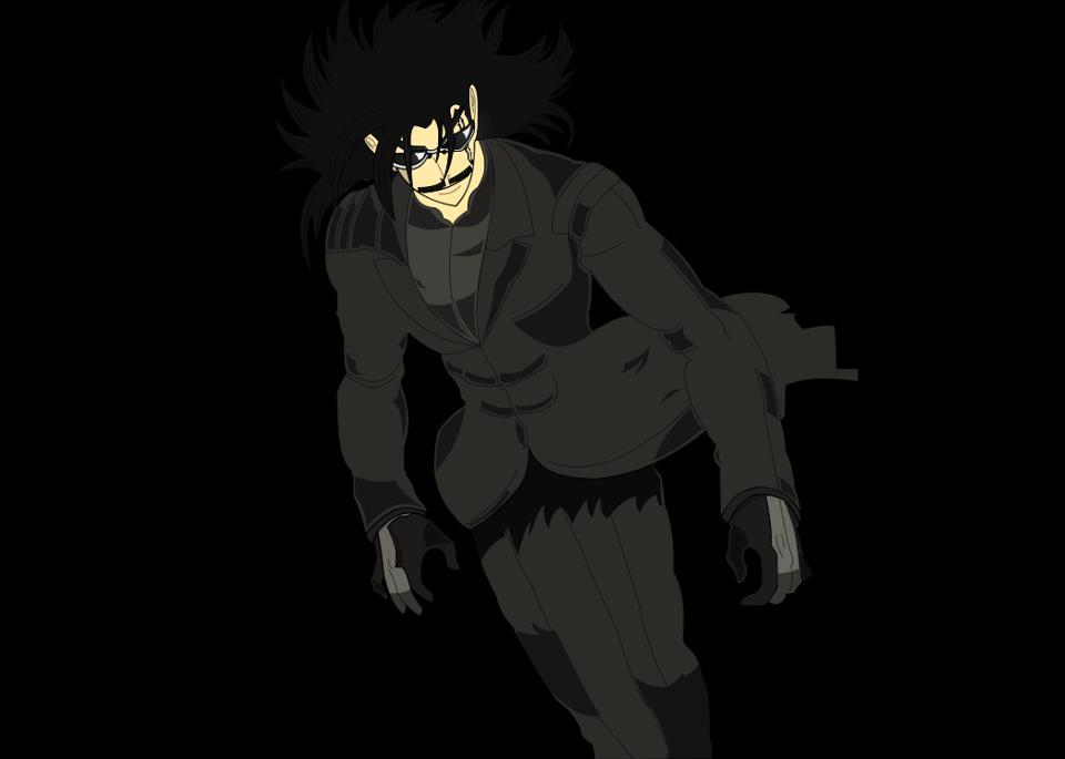 Akira Hongo In Black