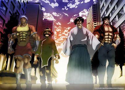 Ryozanpaku's Masters Casually Walk to Yami's Location