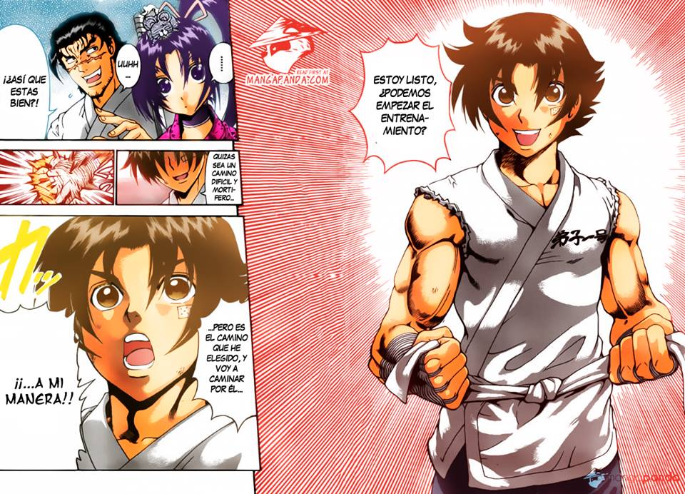 Kenichi's Ready to Start Training