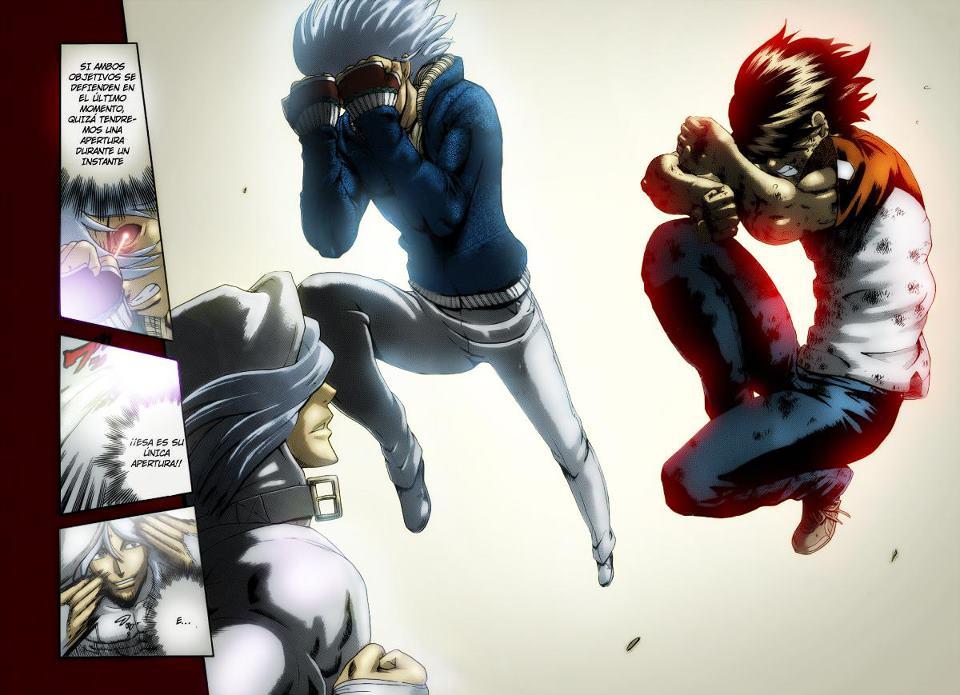 Kenichi and Ryuto's Double Defensive Stance