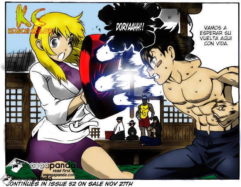 Kenichi and Miu Train Hard for Shigure