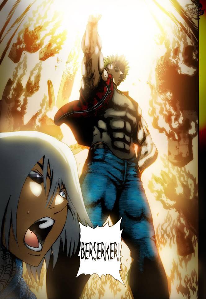 Berserker Saves Ryuto in the Nick of Time