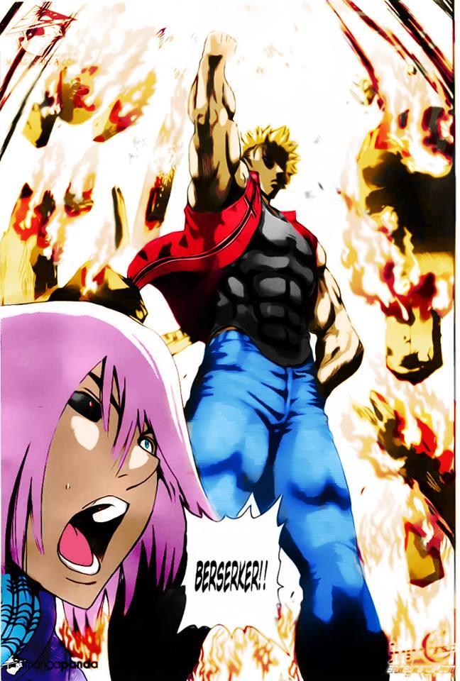 Berserker Saves Ryuto and Rimi