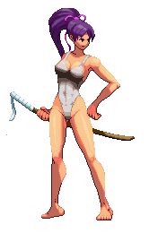 Shigure Swimsuit Sprite (KOFXII-Style)