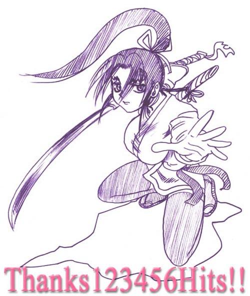 Shigure Hit Commemoration Sketch