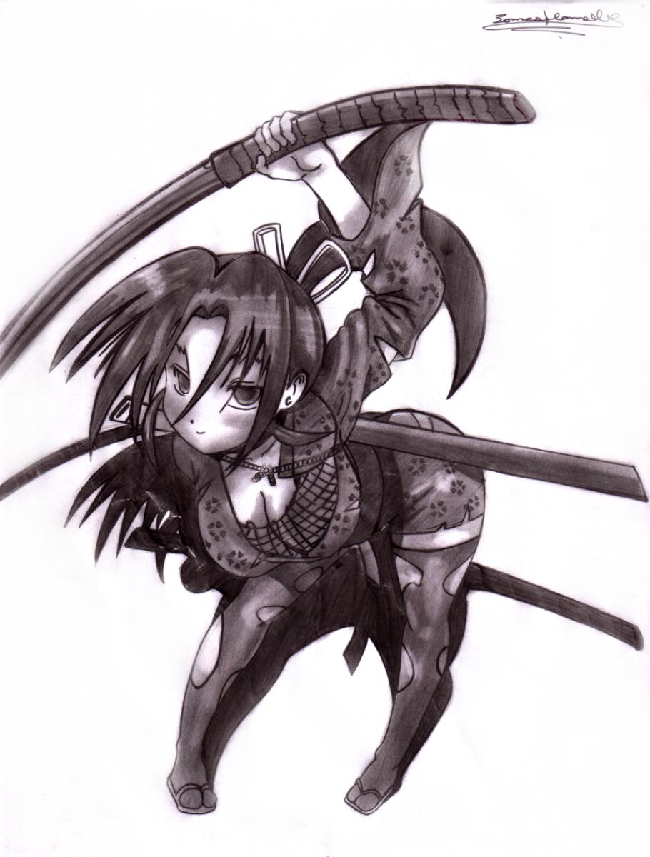Shigure Kosaka Drawing