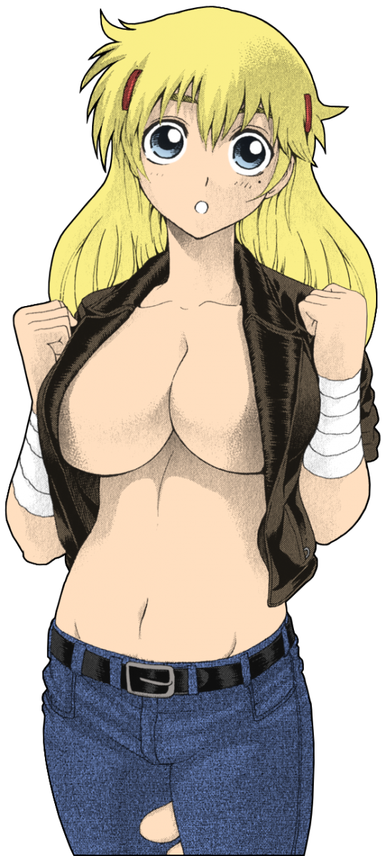Miu Dressed as Sakaki