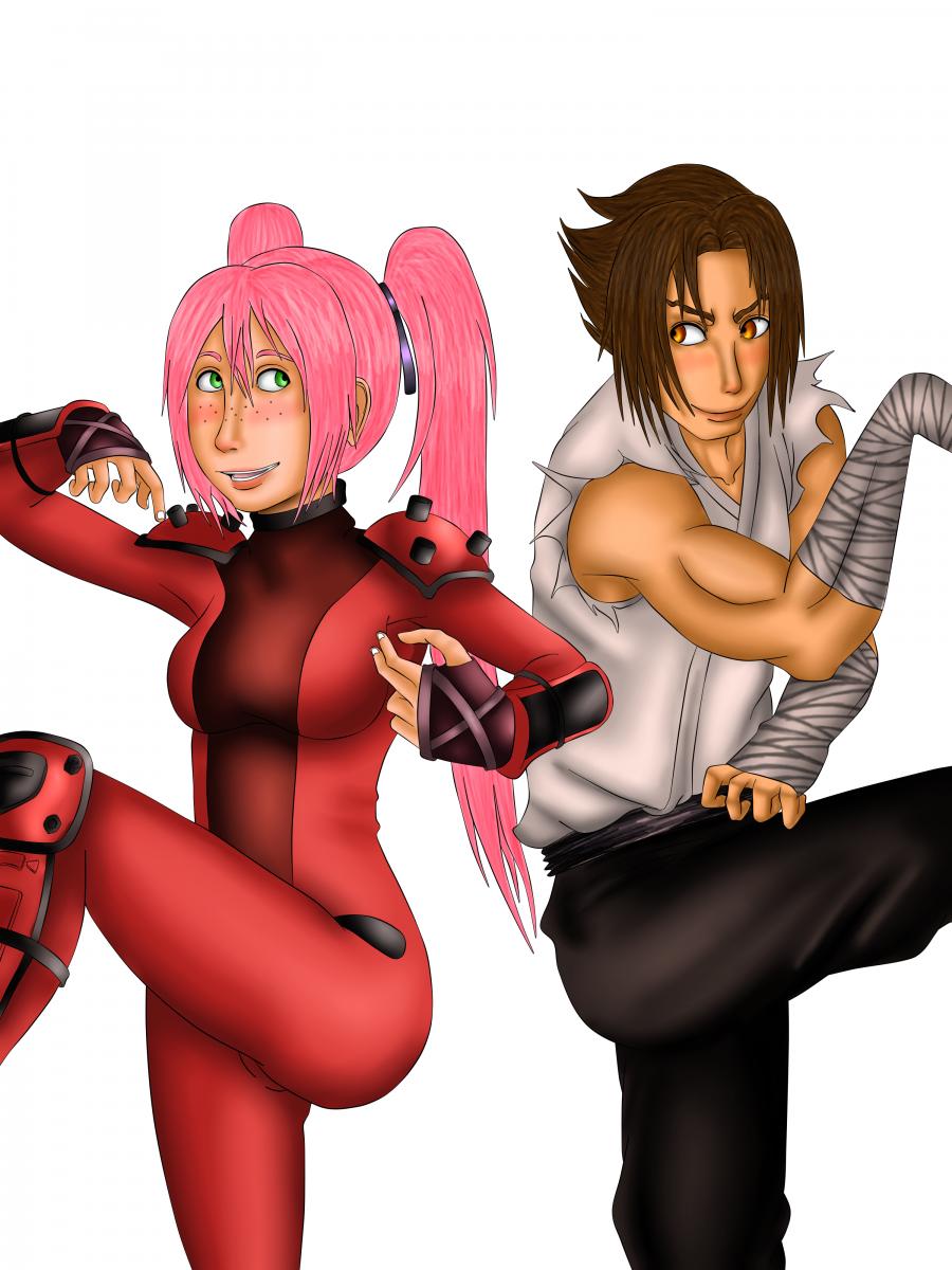 Kenichi And Raichi