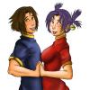 Kenichi and Renka~!