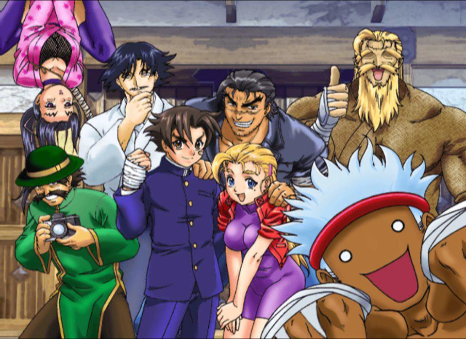 All Smiles at Ryozanpaku