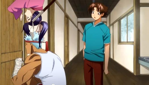 Shigure and Apachai Spy on Sakaki's Meeting
